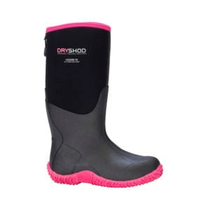 Dryshod Legend Women's Black/Pink Hi