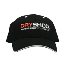 Dryshod Black Logo Hat
