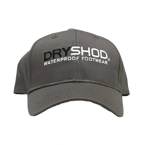 Dryshod Grey Logo Hat