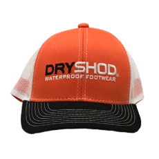 Dryshod Orange Logo Hat