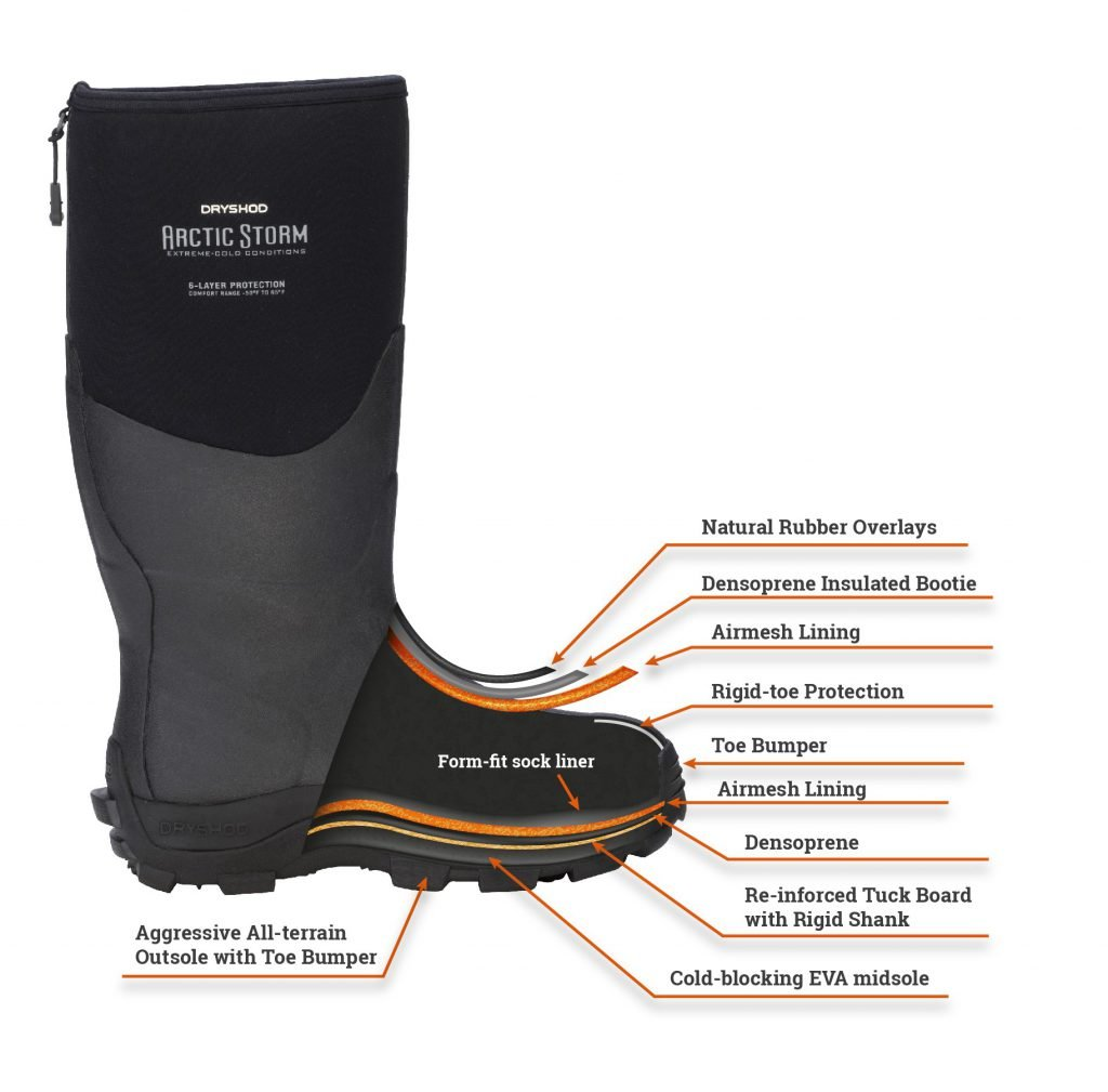 Dryshod Boot Layers